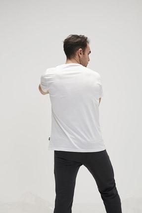 Bad Bear Erkek Beyaz Tişört Naughty Tee Spor T-Shirt 3