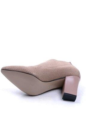Ustalar Ayakkabı Çanta Bej Kadın Topuklu Ayakkabı 364.2256 3