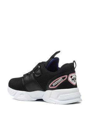 EDS Shoes Çocuk Siyah Sax Panda Günlük Ayakkabı 4