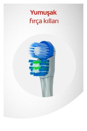 Colgate 360 Pilli Optik Beyaz Platinum Beyazlatıcı Yumuşak Diş Fırçası Yedek Başlık 1+1 2
