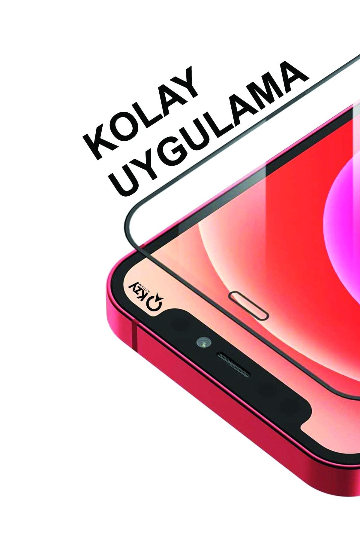 KZY İletişim Samsung Galaxy M31s Uyumlu Tam Kaplayan 21d Temperli Ekran Koruyucu Cam