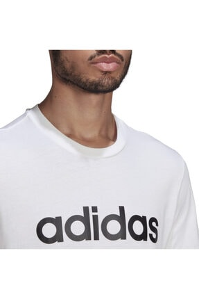 adidas Essentials Embroidered Linear Logo Short-sleeve Erkek Tişört 4