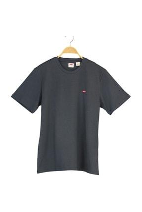 Levi's Erkek Ss Orıgınal Hm Tee Lse_Gray Ore Gray Pl T-Shirt 56605-0109 0