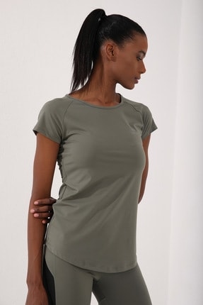 Tommy Life Çağla Kadın Sırt Pencereli Kısa Kol Standart Kalıp O Yaka T-shirt - 97101 3