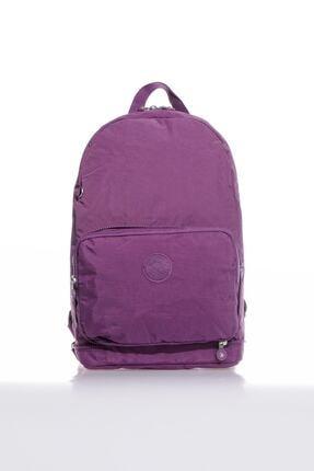 Smart Bags Smb3080-0027 Mor Kadın Katlanabilir Sırt Çantası 0