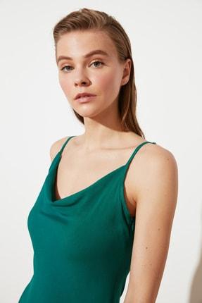 TRENDYOLMİLLA Yeşil Askılı Elbise TWOSS19EL0172 2