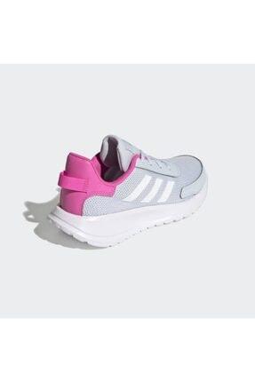adidas TENSAUR RUN K Turkuaz Kadın Koşu Ayakkabısı 101079755 4