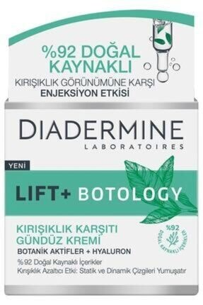 Diadermine Lift + Botology Kırışıklık Karşıtı Gündüz Kremi 50 ml 0