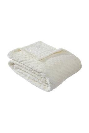 Merinos Tomurcuk Battaniye Kemik Çift Kişilik 0