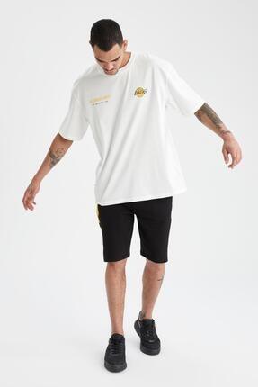 Defacto Oversize Fit Nba Lisanslı Tişört 1