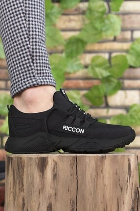Riccon Unisex Siyah Sneaker 0012072 3