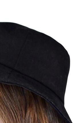 Orçun Özkarlıklı Siyah Bucket Balikçı Şapka 3