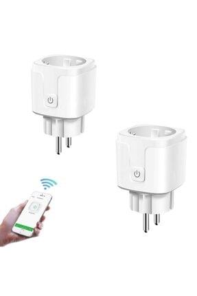 DEHALİMİTED Ios Ve Android Telefon Uyumlu Sesli Kontrollü Wifi Akıllı Priz 16 Amper 0