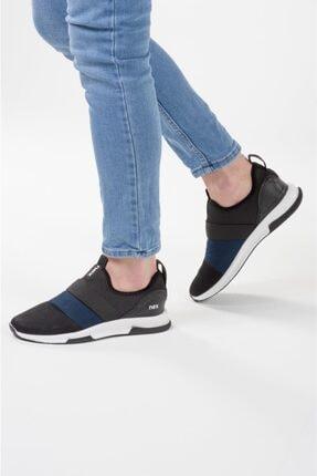 NEX 707 Siyah Lacivert Erkek Spor Ayakkabı 2