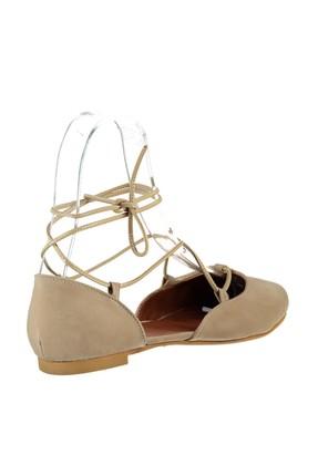 Fox Shoes Ten Kadın Babet B726047202 3