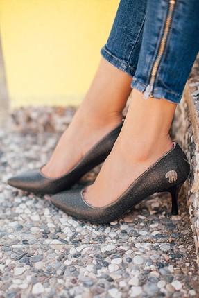 Çok Renkli Kadın Topuklu Ayakkabı DGHH016-STL009 dghh016-stl009