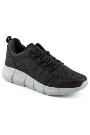 L.A Polo 021 Siyah Beyaz Erkek Spor Ayakkabı 0