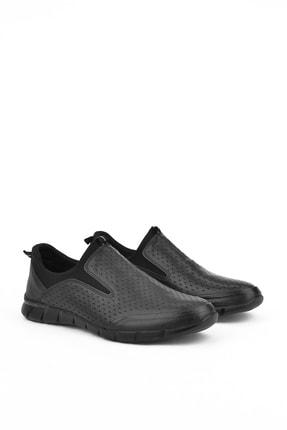 Ziya , Erkek Hakiki Deri Ayakkabı 111415 599295 Sıyah 3