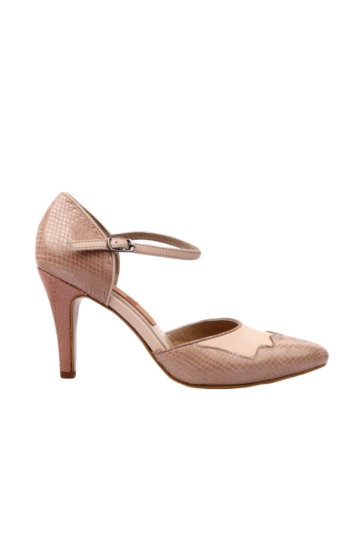 Dgn Pudra Kadın Ayakkabı