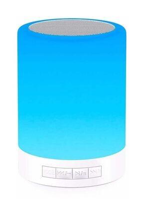 Escom Renk Değiştiren Led Işıklı Taşınabilir Kablosuz Bluetooth Hoparlör 0