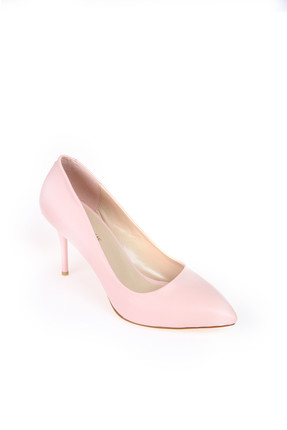 Shoes Time Pudra Kadın Topuklu Ayakkabı 18Y 11905 4