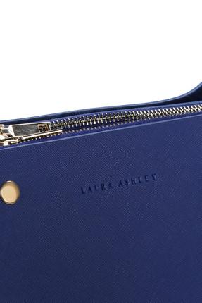 Laura Ashley Kadın Örgü Askılı Baget Çanta Saks Mavi 3