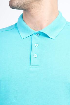 Kiğılı Erkek Mavi Polo Yaka T-Shirt - Cdee1-3 2