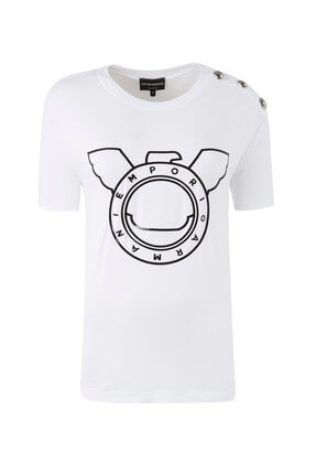 Emporio Armani Kadın T-Shirt 0