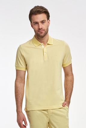 Hemington Erkek Sarı Polo Yaka T-Shirt 1