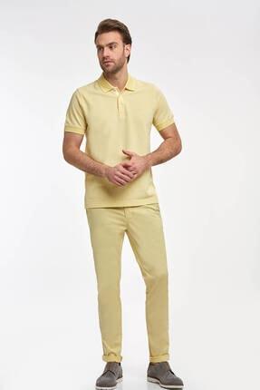 Hemington Erkek Sarı Polo Yaka T-Shirt 4