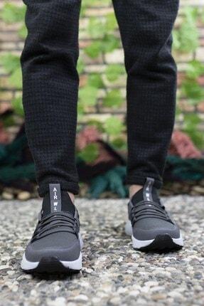 Riccon Unisex Füme Beyaz Sneaker 0012072 1