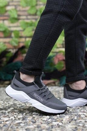 Riccon Unisex Füme Beyaz Sneaker 0012072 3