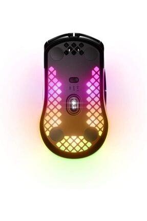 SteelSeries Aerox 3 Wireless 18000 Dpı Ultra Hafif Gaming Mouse Siyah 3