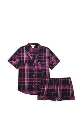 Victoria's Secret Kısa Şortlu Pijama Takımı 3