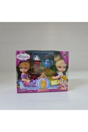 VARDEM OYUNCAK Prenses Bebekler Ve Aksesuarları Kutulu Oyuncak 0