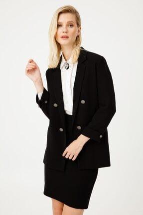 Kadın Ekol Düğmeli Blazer Ceket TYC00110432498