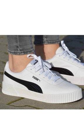 Puma Carina Pfs Wn's Kadın Günlük Spor Ayakkabı 371212 02 Beyaz-syh 2
