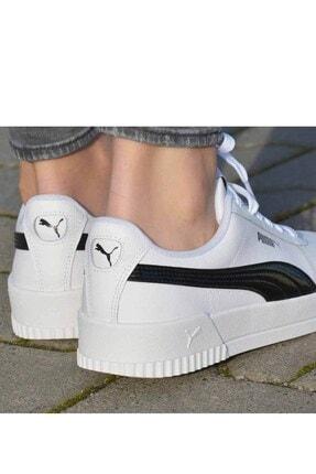 Puma Carina Pfs Wn's Kadın Günlük Spor Ayakkabı 371212 02 Beyaz-syh 3