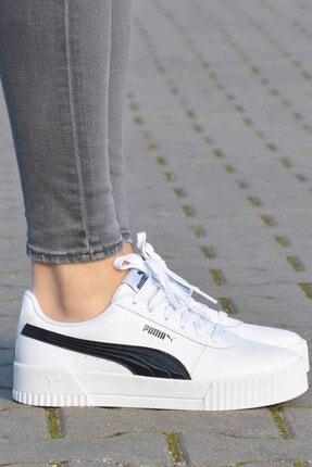 Puma Carina Pfs Wn's Kadın Günlük Spor Ayakkabı 371212 02 Beyaz-syh 4
