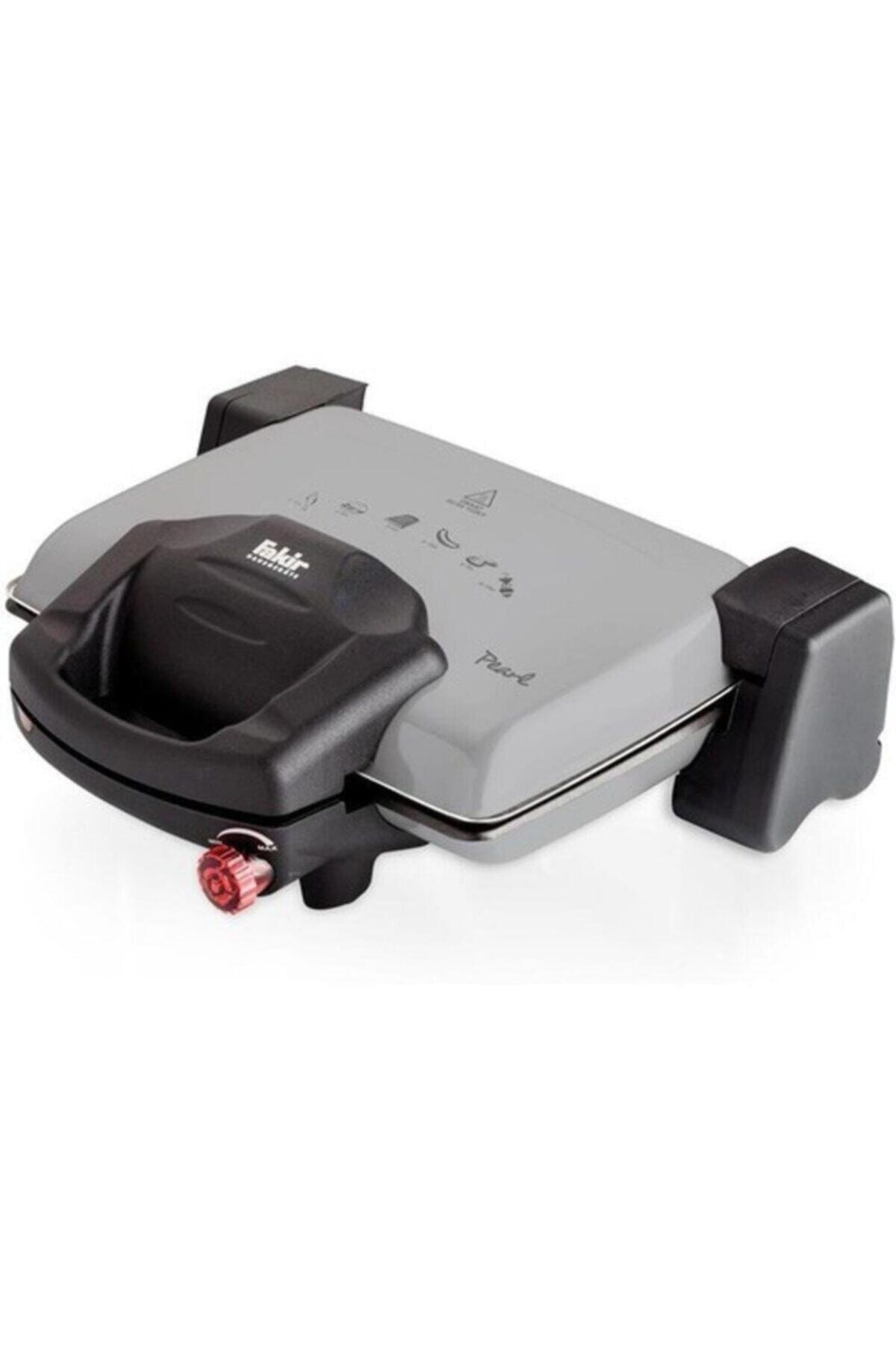 Pearl 2000 W 6 Adet Pişirme Kapasiteli Teflon Çıkarılabilir Plakalı Izgara Ve Tost Makinesi