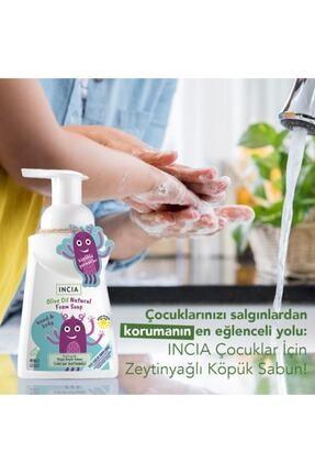INCIA Çocuklar Için Zeytinyağlı Doğal Köpük Sabun 200 ml 1