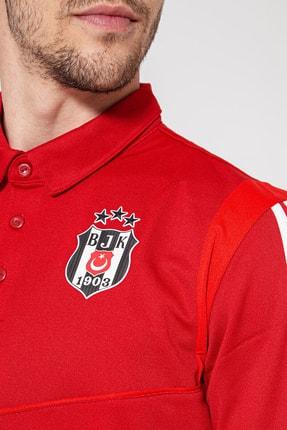 Beşiktaş TIRO19 POLO Kırmızı Erkek Kısa Kol T-Shirt 101117529 1
