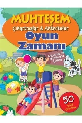 Parıltı Yayınları Muhteşem Çıkartmalar Aktiviteler-oyun Zamanı & Bulmacalar Ve Aktivitelerle Birlikte-50 Renkli Çık... 0