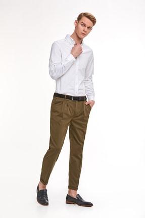 Hemington Erkek Beyaz Oxford Gömlek 1