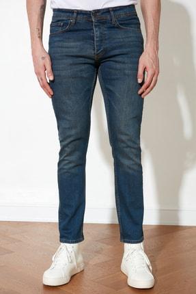 TRENDYOL MAN Indigo Erkek Skinny Jeans TMNAW20JE0434 3