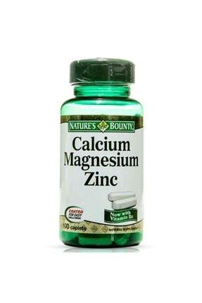 Natures Bounty Calcium Magnesium Zinc 100 Tablet 0