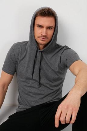 Buratti % 100 Pamuklu Kapüşonlu Slim Fit T Shirt 5412021 1