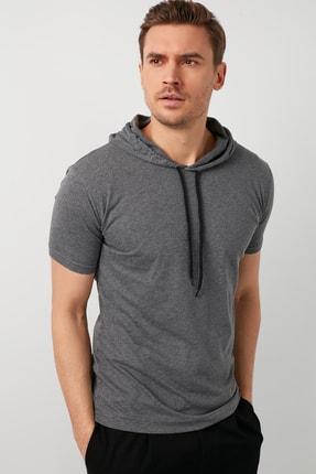 Buratti % 100 Pamuklu Kapüşonlu Slim Fit T Shirt 5412021 2
