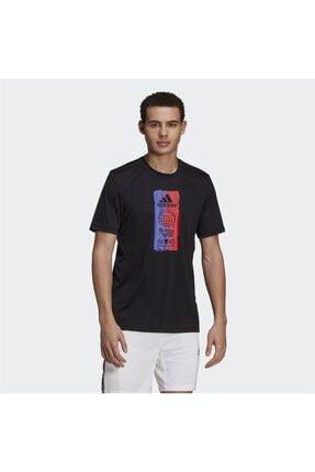 adidas M FTO ICN T Siyah Erkek T-Shirt 101079872 0