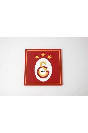 Galatasaray Gs Üçlü Bileklik Beyaz Ve Bardak Altlığı 1